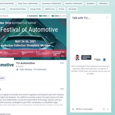 Automotive Tech Week Megatrends 2021 - Swapcard