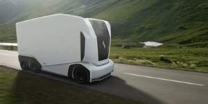 Swedish driverless truck manufacturer, Einride, has chosen Nvidia's computing platform to power its latest Pod transporter now ready for highway use.